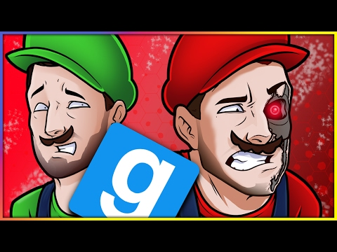 Gmod Prop Hunt Funny Moments: Mario & Luigi Market, Sneaky Orange & The Invisible Chair Spot!