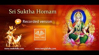 Sri Suktha Homam