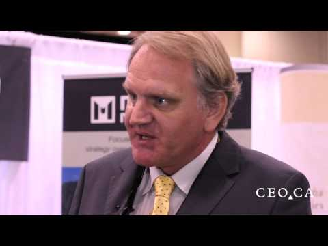 Brent Cook grills Mariana Resources COO Eric Roth at PDAC 2015