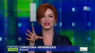 What Christina Hendricks likes in men