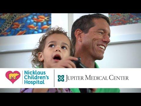 Jupiter Medical Center & Nicklaus Childrens Hospital De George Pediatric Unit