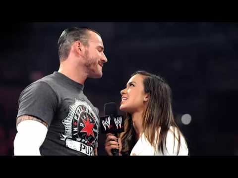 CM Punk And AJ Lee Together In Real Life Updated   Vimow
