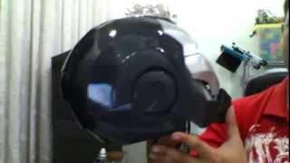 iron man 2 war machine pepakura ( papercraft ) home make   ( diy )