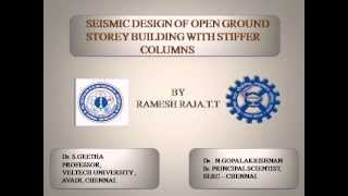 DESIGN OF EQ RESISTANT OPEN GROUND STOREY STRUCTURES WITH DEPTH MODIFICATION FACTOR