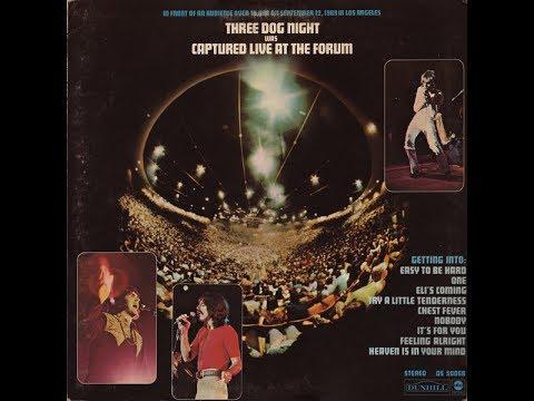 THREE DOG NIGHT - Captured Live At The Forum (Full album) (Vinyl)