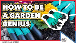 Gardening Gloves with Finger Tip Claws - How To Be A Garden Genius - Next Deal Shop