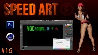 Design BryLexConz - Speed Art # 16 / BG Partner For Voc Squad