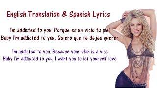 Gambar cover Shakira - Addicted To You - Lyrics English and Spanish