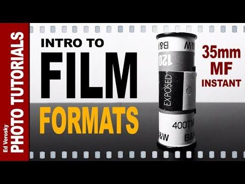 INTRO to FILM CAMERAS, FILM FORMATS -- 35mm, Medium Format, and Instant