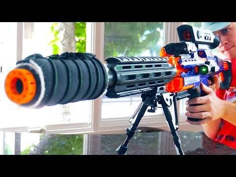 Nerf War: Roommate Battle
