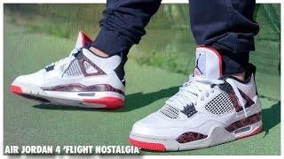 Air Jordan 4 'Flight Nostalgia' - YouTube