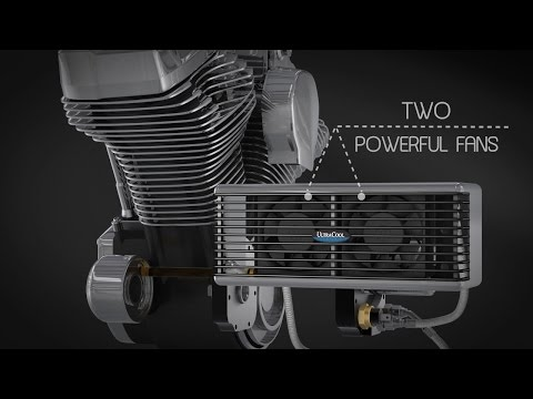 UltraCool Oil Cooler System at J&P Cycles