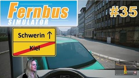 Fernbus Simulator 🚌 #35   Von Kiel nach Schwerin   Not gegen Elend 😖 Regen, Pause, KI 🤦♀️