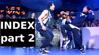 Les Twins @ INDEX Germany part 2