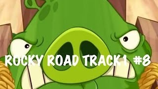 ANGRY BIRDS GO - ROCKY ROAD - TRACK 1 - #8 - LIVE COMMENTS - Gameplay Walkthrough IOS, Android