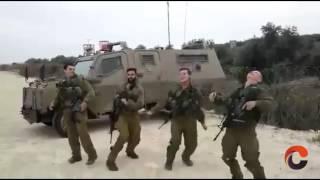 Militares bailando 'Golden Boy', canción de Israel en Eurovisión 2015