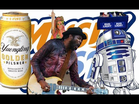 Gary Clark JR At Musikfest(2018)Concert|I Vend Beer With My R2 D2 Beer Cooler At Gary Clark Event !