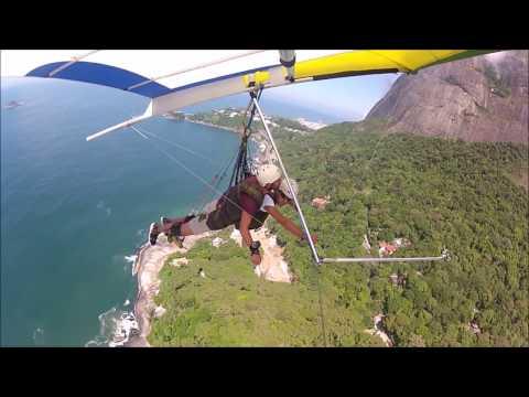 Hang Gliding Over Rio De Janeiro   Man Vs Globe