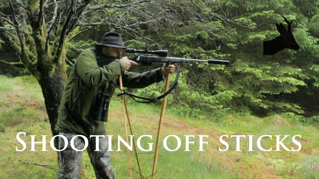 Bisley Shooting Sticks bipode Cerf traqué Fox Tir