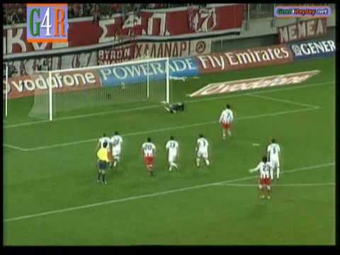 Olympiakos - Thrasivoulos  2-1  Super League 2008-09  Greece