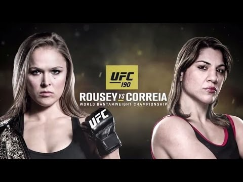 UFC 190: Rousey vs Correia - Extended Preview