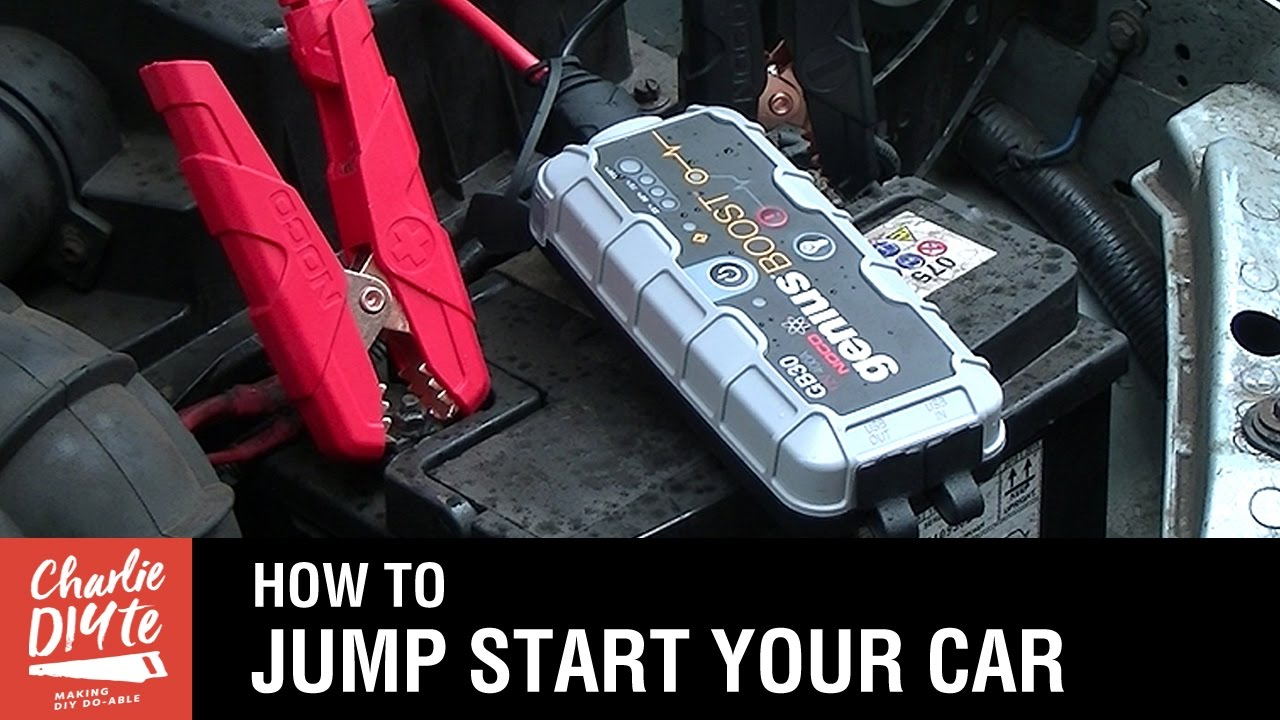 how to jump start your car youtube. Black Bedroom Furniture Sets. Home Design Ideas