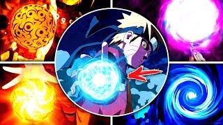 Все ВИДЫ Расенганов из аниме Наруто - Боруто | Naruto - Boruto