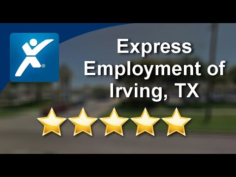 Express Employment Professionals - Irving, TX |Great Five Star Review by Robert G.