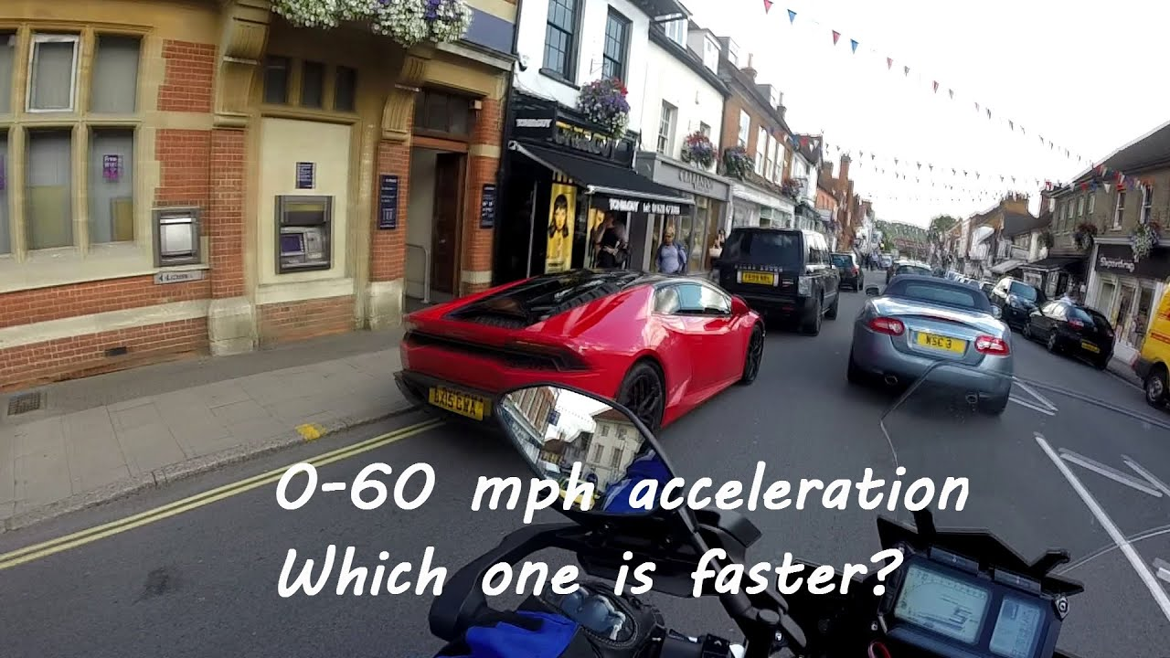 Yamaha MT-09 Tracer FJ-09 0 to 60 mph Acceleration Test