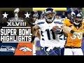 Super Bowl XLVIII Seahawks vs. Broncos highlights