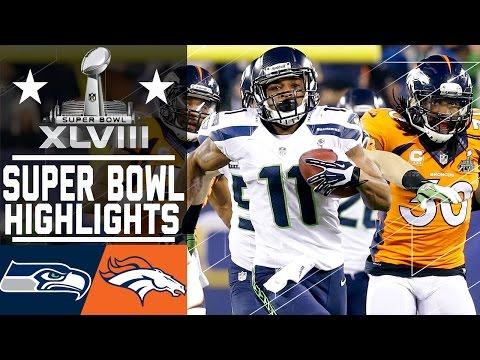 Super Bowl XLVIII: Seahawks vs. Broncos highlights