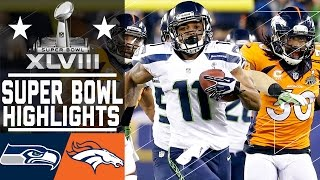 Repeat youtube video Super Bowl XLVIII: Seahawks vs. Broncos highlights