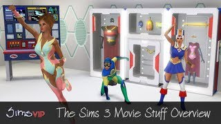 The Sims 3 Movie Stuff Overview