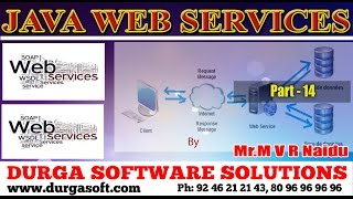 Java Webservices || Webservices Part - 14 by MVR Naidu