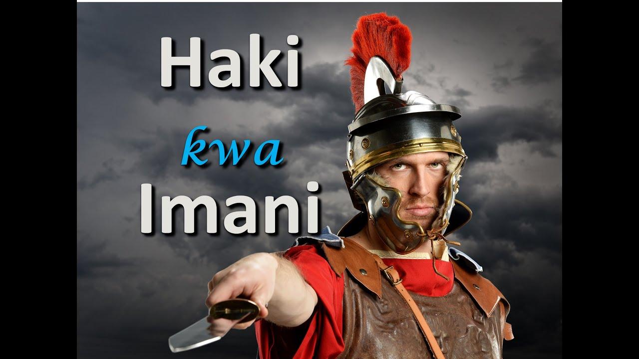 Download HAKI KWA IMANI SEH 3  -  MCHUNGAJI PAUL SEMBA
