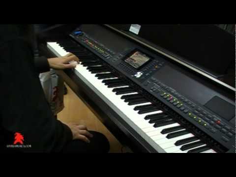 Clavinova Yamaha: sonidos y efectos