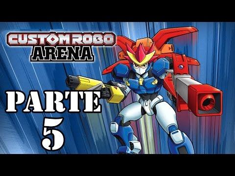 Let's Play: Custom Robo Arena - Parte 5