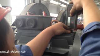 How to run test of high pressure centrifugal fan—-SIMO Blower