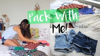 Pack with Me | Tips for Packing!