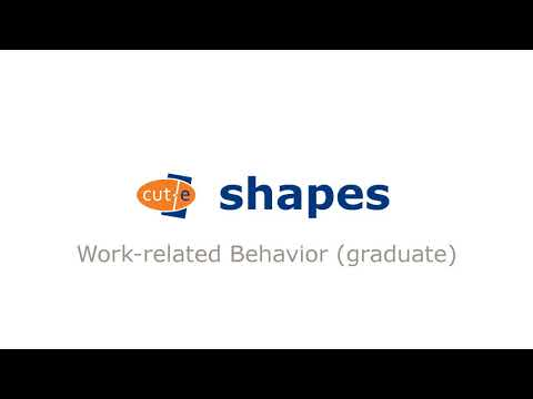 shapes (graduate) - Work-related Behavior