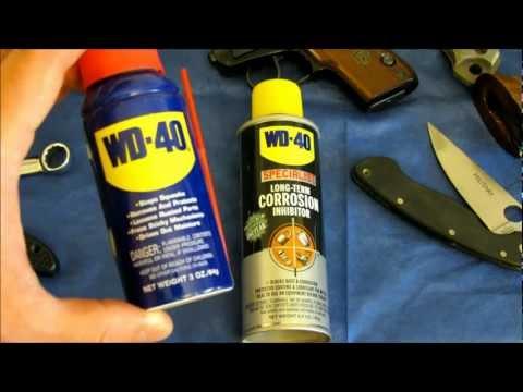 WD-40 LTCI Vs BreakFree CLP
