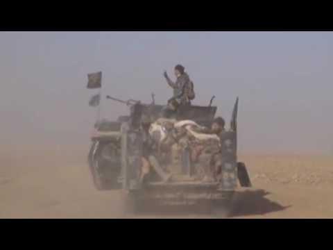 Наступление иракских...