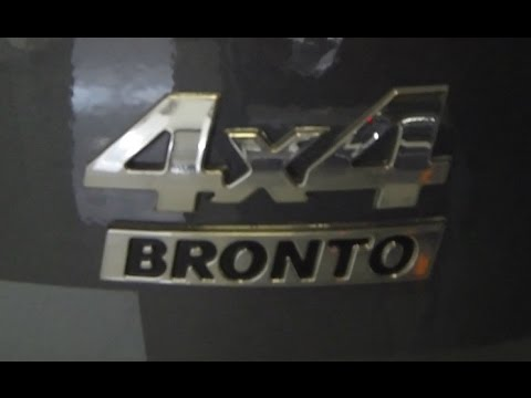 Нива Бронто - обзор в автосалоне.