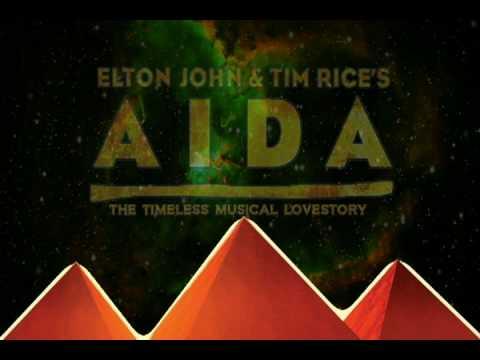 Elton John and Tim Rices AIDA  Stage Door Inc w Voiceover
