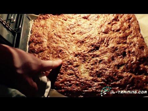 Bodybuilder Kuchen - Der Muskelaufbau Snack