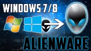 How To: Transform Windows 7/8 To Alienware