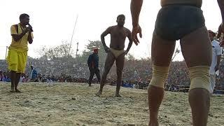 हथवन के महान दंगल में नेपाल के पहलवान का बीराट प्रर्दशन 2  Hathwan kusti program