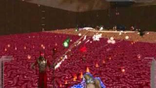 Boss Demon Hatred AEOD Edition 2: 1 Lich King vs. 16 Cyberdemon Class monsters