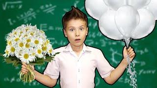 Мама устроила челлендж в школе !!! 24 часа ТОЛЬКО БЕЛЫЙ // скетчи от Фаст Сергей