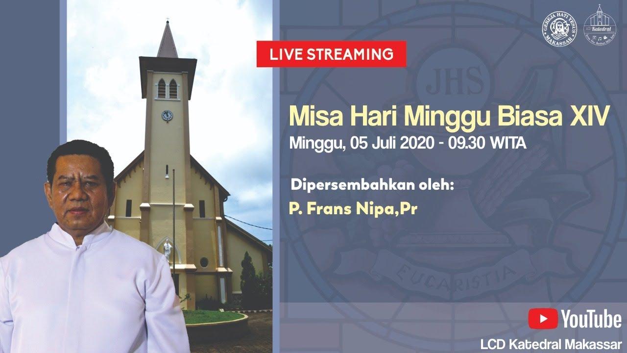 [LIVE] Misa Hari Minggu Biasa XIV 05 Juli 2020 Pukul 09.30 WITA - Gereja Katedral Makassar